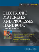 Electronic Materials And Processes Handbook Book PDF