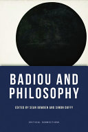 Badiou and Philosophy