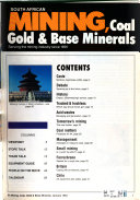 South African Mining  Coal  Gold   Base Minerals