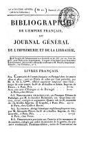 Bibliographie de l'Empire Français