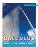 Calculus: Single Variable, 2nd Edition Book