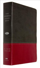 The Jeremiah Study Bible Nkjv Charcoal Burgundy Leatherluxe  Book PDF