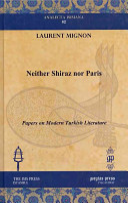 Neither Shiraz Nor Paris