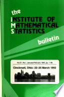 IMS Bulletin  , Volume 21
