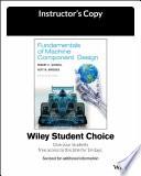 Fundamentals of Machine Component Design, 6e Evaluation Copy