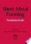 Sheet Metal Forming Book