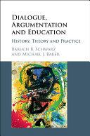 Dialogue  Argumentation and Education