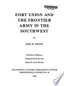 Fort Union and the Frontier Army in the Southwest