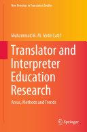 Translator and Interpreter Education Research