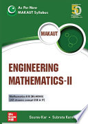 Engineering Mathematics Ii As Per New Makaut Syllabus  Book PDF