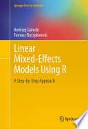 Linear Mixed Effects Models Using R