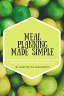 Meal Planning Made Simple PDF