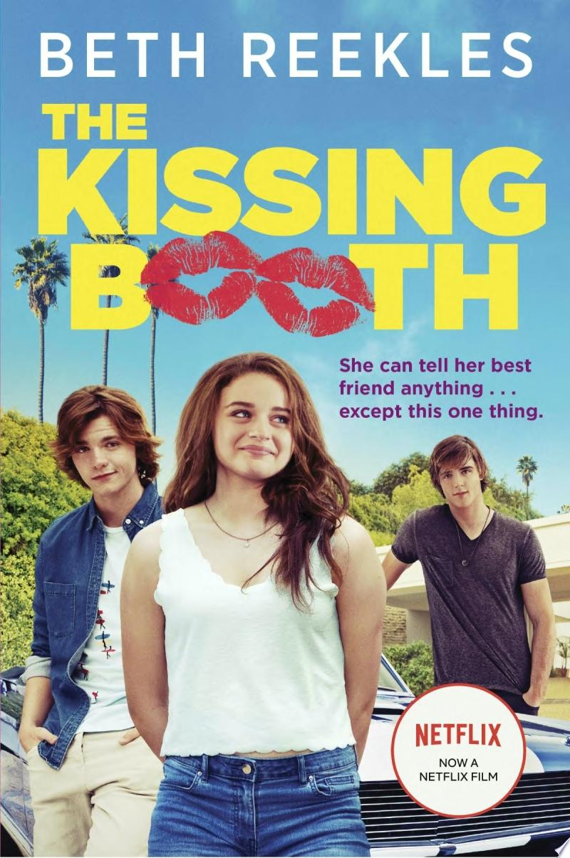 The Kissing Booth banner backdrop