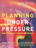 Planning Under Pressure