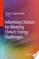 Informing Choices for Meeting China   s Energy Challenges