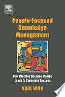 People focused Knowledge Management Book