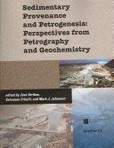Pdf Sedimentary Provenance and Petrogenesis