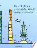 City Skylines around the World Coloring Book for Toddlers 1