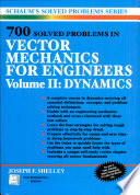 700 Solved Problems In Vector Mechanics