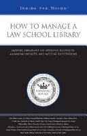 How to Manage a Law School Library