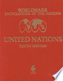 Worldmark Encyclopedia of the Nations: United Nations