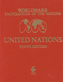 Worldmark Encyclopedia Of The Nations United Nations