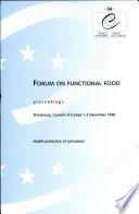 Forum on Functional Food