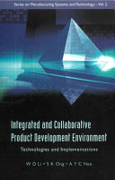 Integrated and Collaborative Product Development Environment