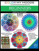 Color My Moods Coloring Books for Adults  Mandalas Day and Night for Beginners