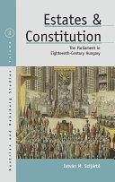 Estates and Constitution [Pdf/ePub] eBook