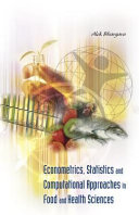 Econometrics  Statistics and Computational Approaches in Food and Health Sciences Book