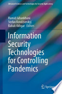 Information Security Technologies for Controlling Pandemics Book