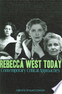 Rebecca West Today Book