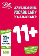 11+ Vocabulary Results Booster for the CEM Tests
