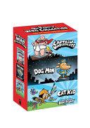 Dav Pilkey s Hero Collection  3 Book Boxed Set  Captain Underpants  1  Dog Man  1  Cat Kid Comic Club  1  Book