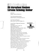 Proceedings of     International Aluminum Extrusion Technology Seminar