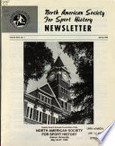 Newsletter - North American Society for Sport History