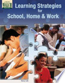 Learning Strategies For School Home And Work