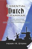 Essential Dutch Grammar