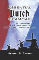 Pdf Essential Dutch Grammar