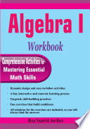 Algebra I Workbook Book