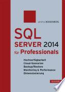 SQL Server 2014 für Professionals