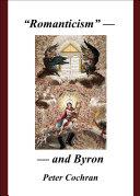 """Romanticism"" – and Byron Pdf/ePub eBook"