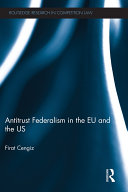 Antitrust Federalism in the EU and the US Pdf/ePub eBook