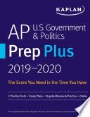 Ap U S Government Politics Prep Plus 2019 2020