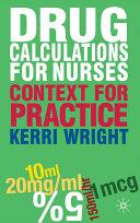Drug Calculations for Nurses