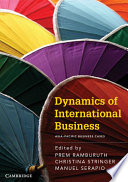 Dynamics Of International Business Asia Pacific Business Cases Book PDF