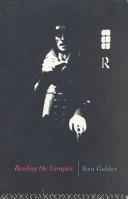 Reading the Vampire