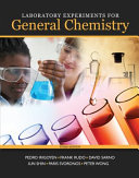 Laboratory Experiments for General Chemistry