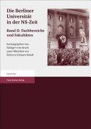 Die Berliner Universität in der NS-Zeit
